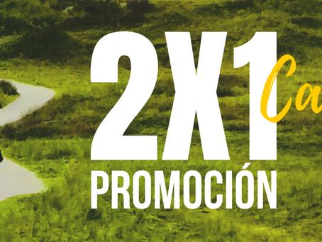 Promoción Camino Primitivo 2x1