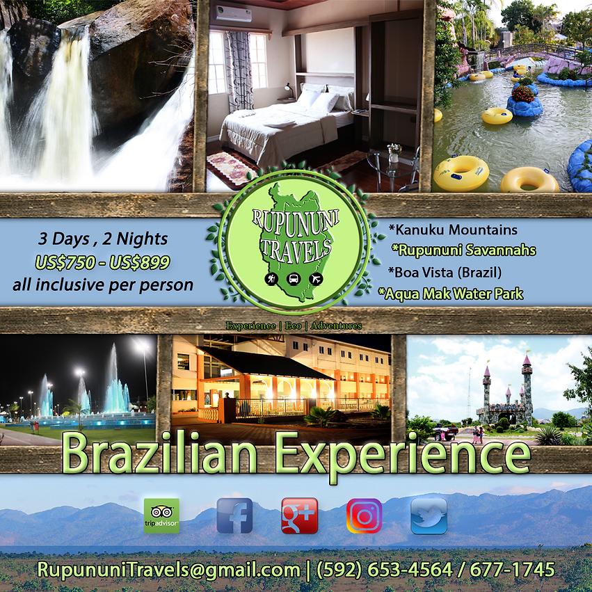 Kanuku Mountains and Boa Vista (Brazil) Rupununi Eco Hotel