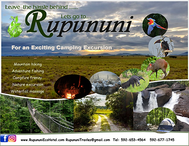 Rupununi Campers' Experience Rupununi Eco Hotel Packages