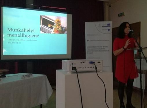 Előadásom a Komárom-Esztergom megyei Foglalkoztatási Paktum rendezvényén