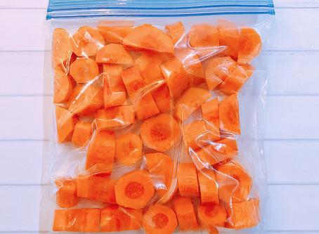 食材冷凍保存術-根莖類蔬菜-紅蘿蔔