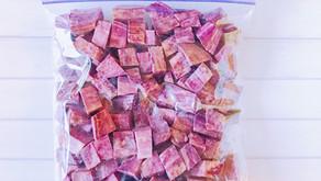 食材冷凍保存術-根莖類-地瓜、紫薯