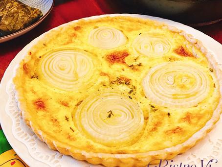 令人驚豔的蔬食料理-法式洋蔥鹹派