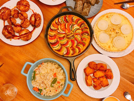夏日蔬食水果主題聚餐