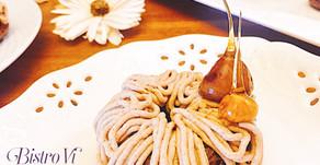吸睛度100%-焦糖榛果栗子可可蛋糕