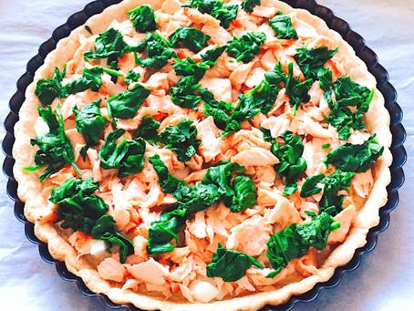 鄉村鮭魚菠菜法式鹹派