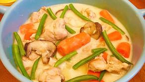 [經典和風洋食] 白醬鮮蔬燉雞