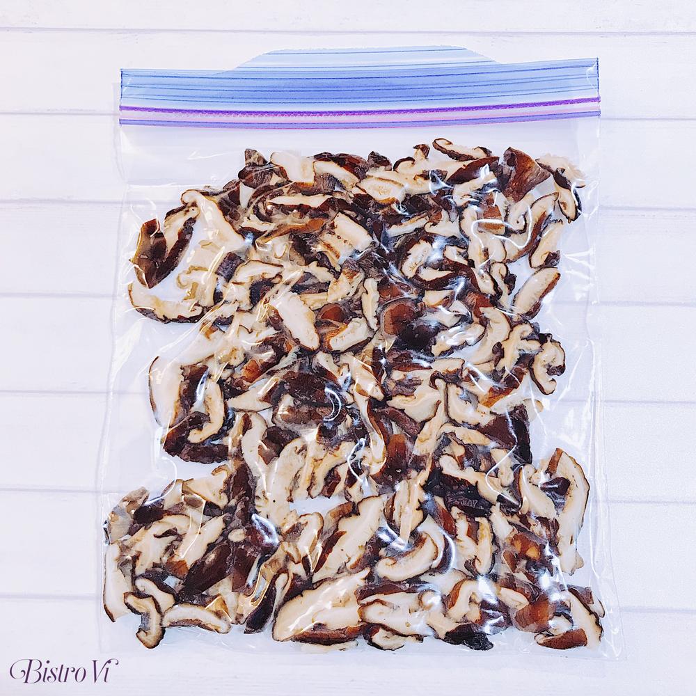 食材冷凍保存術-乾貨-乾香菇