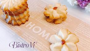 6種材料快速小點心-果醬奶酥小花餅乾