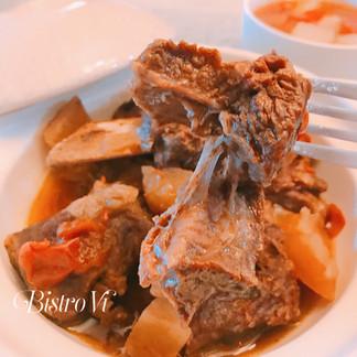 [Instant pot+電鍋] 零廚藝、免顧火、一次搞定主食+湯品:紅燒燉牛肉+番茄牛肉湯