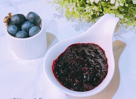 簡易快速-自製藍莓果醬