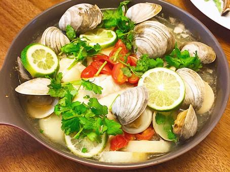 簡易一鍋料理-地中海風煮鱈魚