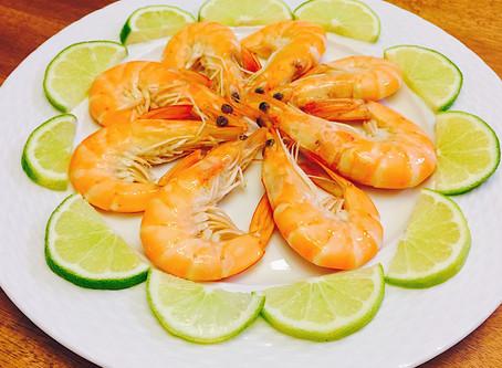 不用中藥版的簡易年節/宴客料理-紹興醉蝦