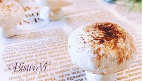 三種材料完成可愛又擬真的蘑菇蛋白霜餅