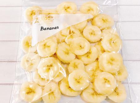 食材冷凍保存術-水果-香蕉