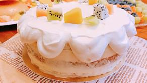 自由搭配風 -繽紛水果鮮奶油蛋糕