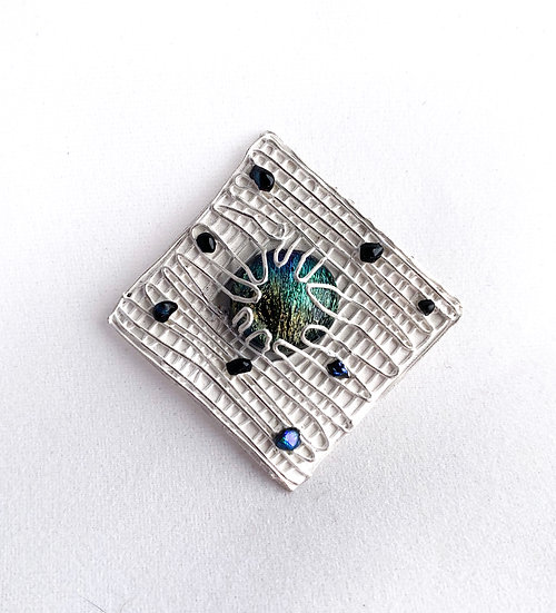 Cool Blue Pin
