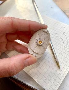 Saddle Ring Metal Clay Class