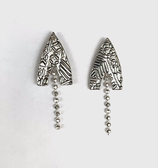 Geometry Small Shooting Star Earrings