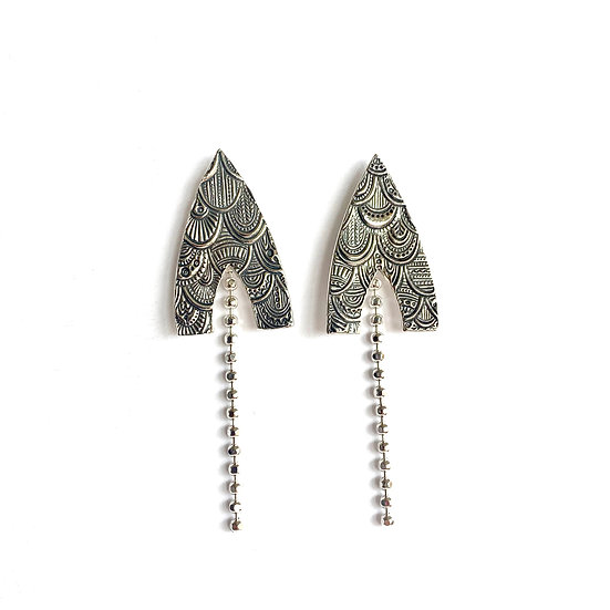 Rococo Shooting Star Earrings