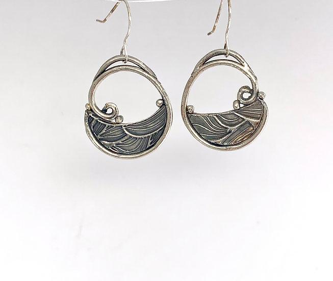 """""""Rock a Bye"""" - Sterling Earrings"""