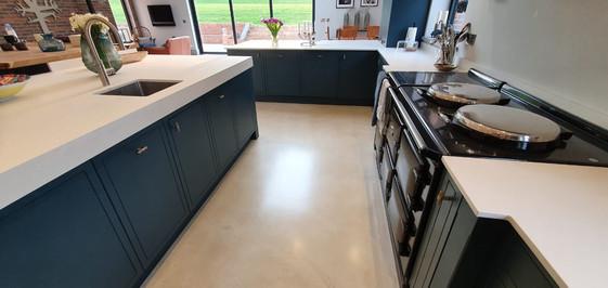 Polished concrete floor in Kent, UK - ULTIMA BAUFLOOR