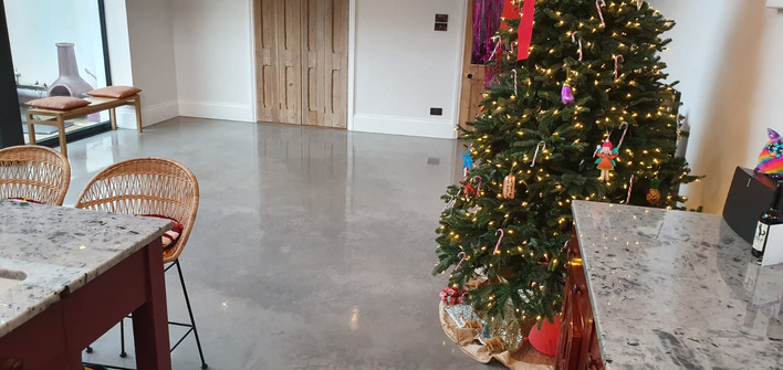 Polished concrete floor in Brighton ULTIMA BAUFLOOR