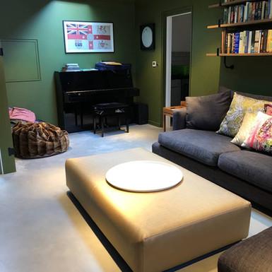 Polished concrete floor in London - ULTIMA BAUFLOOR