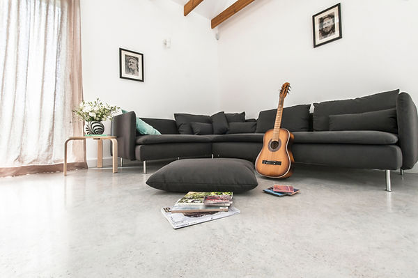 Polished concrete floor in UK