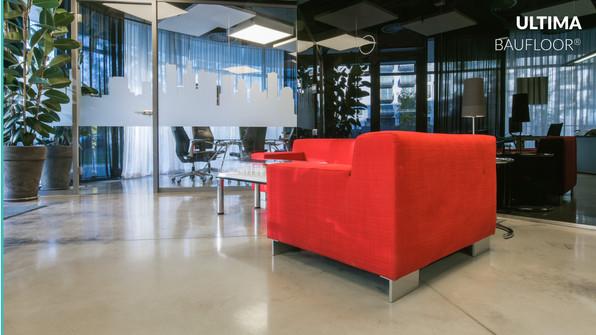 Polished concrete floor ULTIMA BAUFLOOR