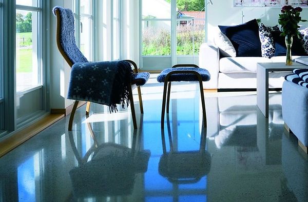 terrazzo  Polished Concrete Floor in Seaford