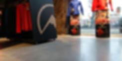 Bautech Flooring UK,Polished Concrete Floor in Mountain store,Power floating concrete floor finish,Installation Ultima Baufloor,UK,Polished Concrete Supplier in UK