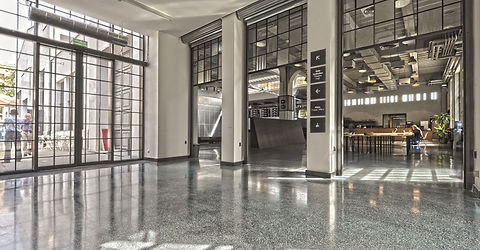 Terrazzo polished concrete floor Tunbridge Wells
