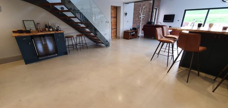 Polished concrete floor in Kent ULTIMA BAUFLOOR