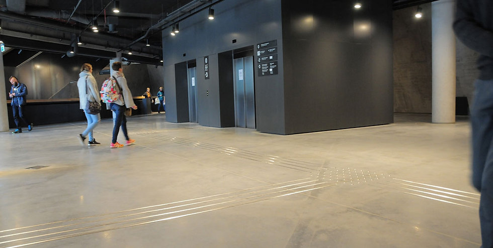 Bautech Flooring UK,Polished Concrete Floor in museum ,Power floating concrete floor finish,Installation Ultima Baufloor,UK,Polished Concrete Supplier in UK