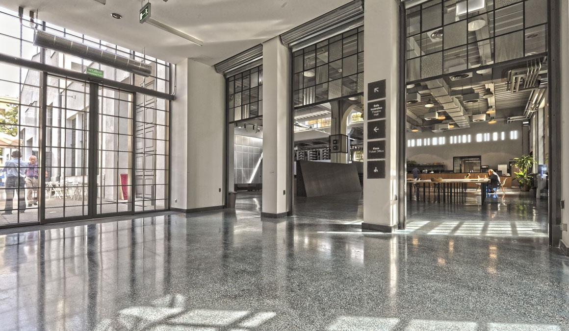 Terrafloor - terrazzo polished concrete