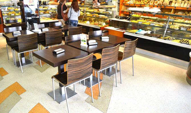 Terrafloor - terrazzo in cafe shop