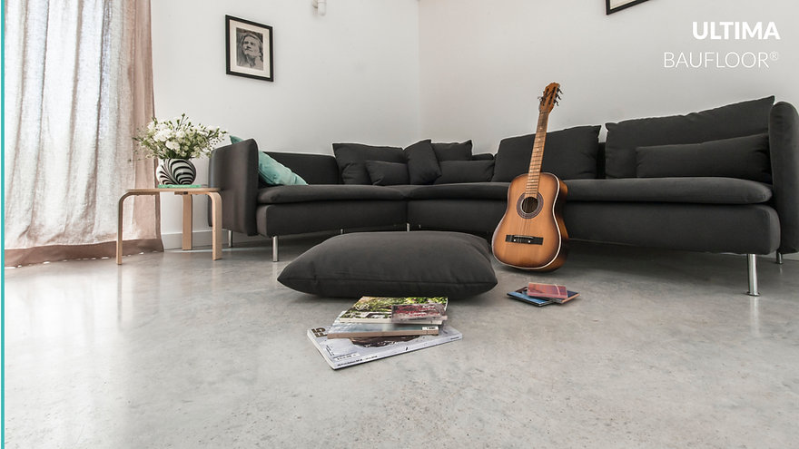 Polished concrete floor in London - Bautech Ultima