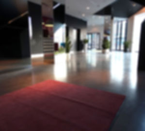 Bautech Flooring UK,Polished Concrete Floor in lobby and restaurant,Power floating concrete floor finish,Installation Ultima Baufloor,UK,Polished Concrete Supplier in UK