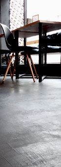 Creativo Baufloor, microcement floor in London