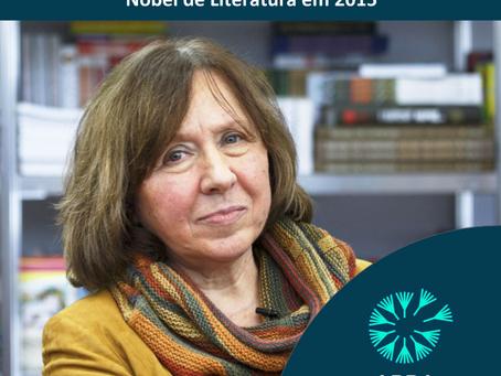 Svetlana Aleksievitch - Nobel de Literatura em 2015