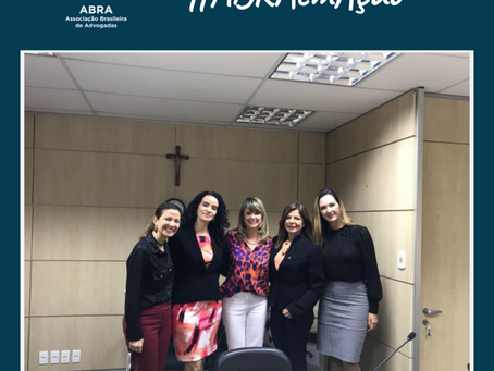 Projeto ABRA na Vara de Violência Doméstica de São Sebastião