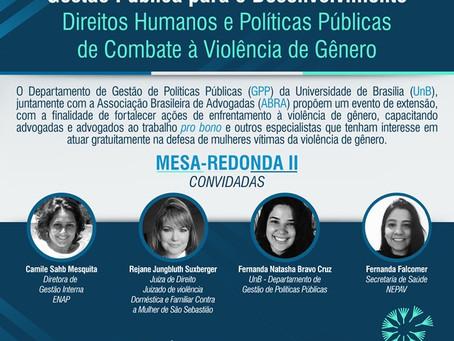 Segunda edição do ciclo de palestras sobre Direitos Humanos e Políticas Públicas de Combate à Violên