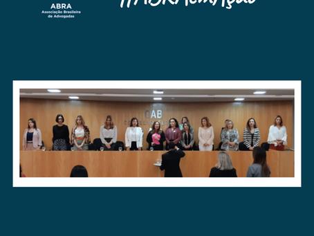 ABRA em Ação - Na sede do Conselho Federal da OAB