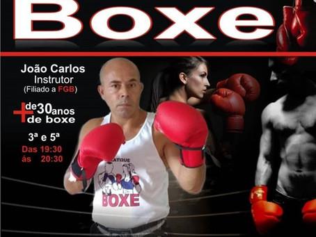 Boxe - Novas turmas... Participe!
