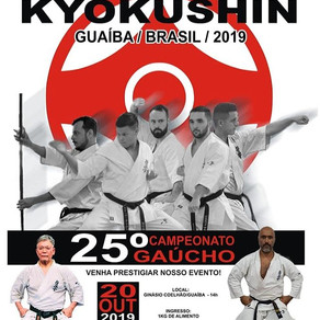 25° Campeonato Gaucho - Karate Kyokusin 2019