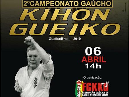 Kihoh Gueiko - 2° Campeonato