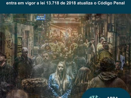 Importunação sexual agora é crime no Brasil