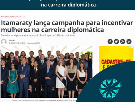 Itamaraty lança campanha para incentivar mulheres na carreira diplomática