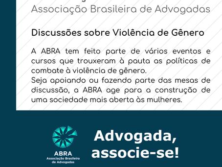 Atuação ABRA - Discussões sobre violência de Gênero
